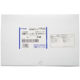 オオサキメディカル 滅菌ドレーンガーゼ SS3012-1 50袋 衛生医療 切り込み入ガーゼ