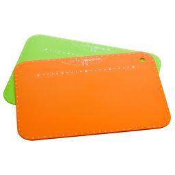 下村企販 キュートクック やわらかまな板S 2枚組 ホーム&キッチン カッティングボード(まな板)
