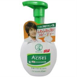 ロート製薬 メンソレータム アクネス薬用 ふわふわな泡洗顔 160ml 化粧品 泡洗顔料