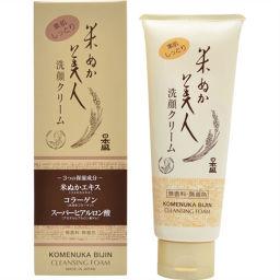 日本盛 米ぬか美人 洗顔クリーム 100g 日用品 知覚過敏歯磨き