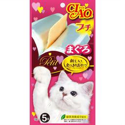 いなばペットフード チャオ プチ まぐろ 8g×5個 ペット用品 猫缶・レトルト(高齢猫・シニア用)