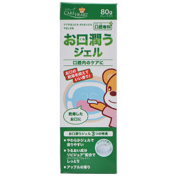 玉川衛材 ケアハート 口腔専科 お口潤うジェル 80g 介護 口腔ケア用品