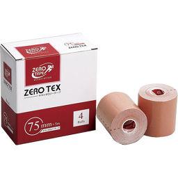 日進医療器(衛生用品) ZERO テックス キネシオロジーテープ 75mm×5m 4巻入 衛生医療 キネシオテープ(伸縮性テープ)
