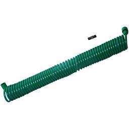 富士商 ガーデンコイルホース 取替え用ホースセット グリーン DIY・ガーデン ホース