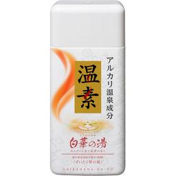 アース製薬 温素 白華の湯 600g 日用品 薬用入浴剤 肌荒れ対策
