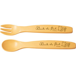 Two Tone Two Tone Winnie The Pooh Spoon Fork Set Baby Kids Baby Tableware Set ー The Best Place To Buy Japanese Quality Products Samurai Mall
