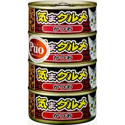 アイシア 黒缶 気まグルメ かつお 155g×4缶 ペット用品 猫缶・レトルト(かつお)