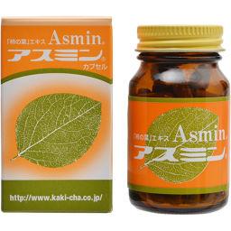 生化学研究所 柿茶本舗 柿の葉エキス アスミン 50カプセル 健康食品 柿の葉茶