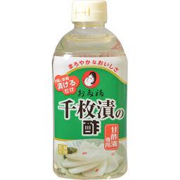 お多福醸造 オタフクソース 千枚漬の酢 500ml フード チヂミ粉(チヂミの素)