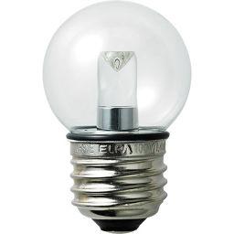 朝日電器 ELPA 防水型LED装飾電球 ミニボール球形 E26 G40 クリア昼白色 LDG1CN-G-GWP255 家電 LED電球(E26 口金)