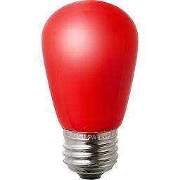 朝日電器 ELPA LED装飾電球 サイン球形 E26 レッド LDS1R-G-G904 家電 LED電球(E26 口金)