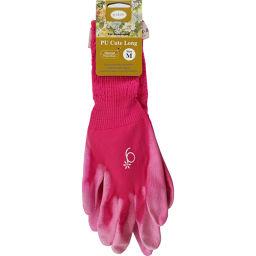 アトム PUキュートロング G9-2 ローズ Mサイズ DIY・ガーデン ガーデングローブ・手袋