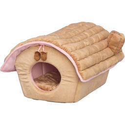 アイリスオーヤマ アイリスオーヤマ にゃんこハウス P-NHL590 ベージュ ペット用品 キャットハウス(猫ハウス)