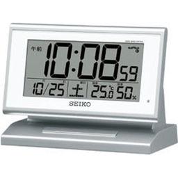 セイコークロック セイコー 電波目覚まし時計 SQ768S 家電 目覚まし時計