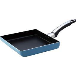 マイヤージャパン フジマル ニューファブリエブルー エッグパン LLサイズ NFB-ELLBU ホーム&キッチン たまご焼き器・エッグパン