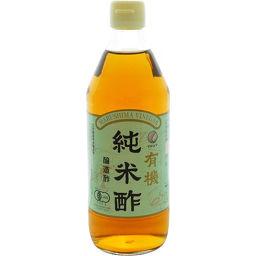 純正食品マルシマ マルシマ 有機純米酢 500ml フード 麦みそ(麦味噌)