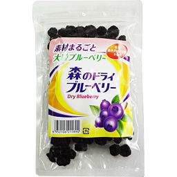 Morikawa Kushindo Morikawa Kushindo Dried Blueberries In The Forest 100g Food Blueberries Dried Fruit ー The Best Place To Buy Japanese Quality Products Samurai Mall