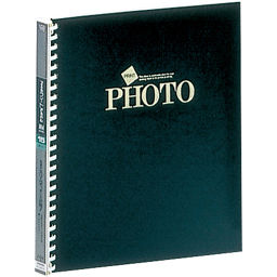 ナカバヤシ ナカバヤシ ライトフォートPP 4切サイズ アL-JHO-121-D 黒 ホーム&キッチン アルバム