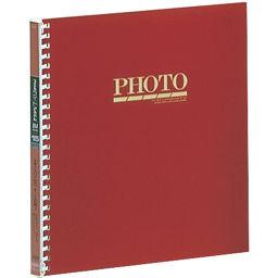 ナカバヤシ ナカバヤシ ライトフォート15R 4切サイズ アL-JHO-91-R 赤 ホーム&キッチン アルバム