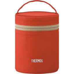 サーモス サーモス フードコンテナーポーチ レッド REB-002 R ホーム&キッチン ランチバッグ