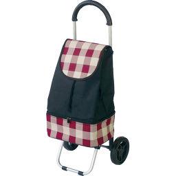 ナカバヤシ ナカバヤシ RQショッピングカート チェック赤 RQC-C102-CR ホーム&キッチン ショッピングカート