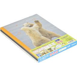 ナカバヤシ スイングロジカルノート パロディアニマル A5/A罫/30枚 ノ-A508A-5P 5冊パック ホーム&キッチン ノートA5