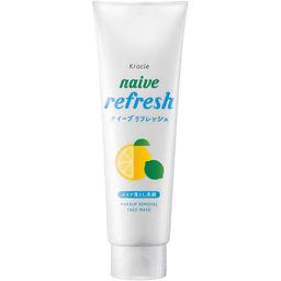 クラシエホームプロダクツ ナイーブ リフレッシュ メイク落とし洗顔フォーム 海泥配合 200g 化粧品 洗顔フォーム
