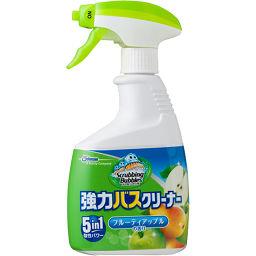 ジョンソン スクラビングバブル 強力バスクリーナー フルーティアップルの香り 本体 400ml 日用品 洗剤 おふろ用