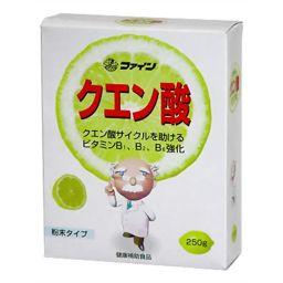 ファイン ファイン クエン酸 粉末タイプ 250g 健康食品 クエン酸