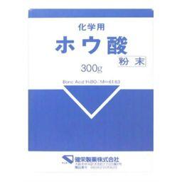 健栄製薬 ホウ酸(化学用) 300g 衛生医療 ホウ酸