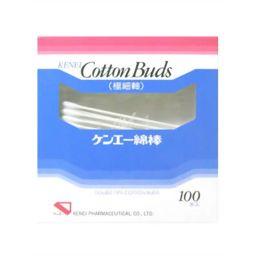 健栄製薬 ケンエー綿棒 極細軸 100本入り 衛生医療 ベビー綿棒