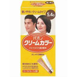 シュワルツコフ ヘンケル パオン クリームカラー5.4-G くすんだ濃いめの栗色 化粧品 白髪染め 女性用