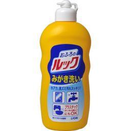 ライオン ルック おふろのみがき洗い 400g 日用品 洗剤 おふろ用