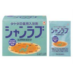 武田薬品工業 シャンラブ エメラルドグリーン 30g×30包(入浴剤) 日用品 薬用入浴剤 薬効温浴