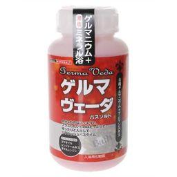 日本浴剤工業 ゲルマヴェーダ ボトル 630g(入浴剤 バスソルト) 日用品 バスソルト