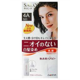 ダリヤ サロンドプロ 無香料ヘアカラー 早染め乳液4A (アッシュブラウン) 化粧品 白髪染め 早染めタイプ
