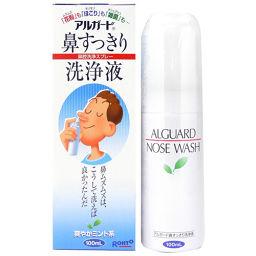 ロート製薬 アルガード 鼻すっきり洗浄液 100ml 衛生医療 鼻洗浄器