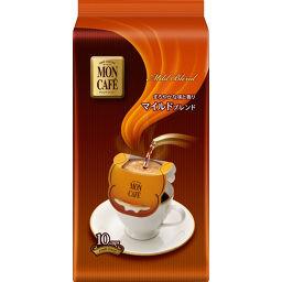 片岡物産 モンカフェ マイルドブレンド 8g×10袋 水・飲料 ドリップコーヒー