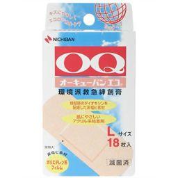 ニチバン オーキューバン エコ Lサイズ 18枚 OQE18L 衛生医療 肌色タイプ絆創膏