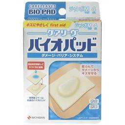 ニチバン ケアリーヴ バイオパッド ジャンボMサイズ 4枚入 衛生医療 ハイドロフィリック素材絆創膏