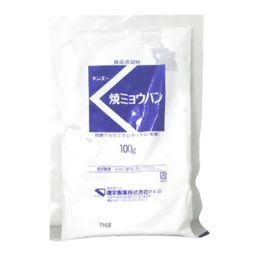 健栄製薬 焼ミョウバン マツ 100g フード ミョウバン(みょうばん)