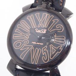 Gaga Milano【ガガ・ミラノ】 腕時計 ステンレス/レザー メンズ