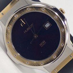 HUBLOT【ウブロ】 1401.2 腕時計 SS/K18ゴールド/ラバー レディース