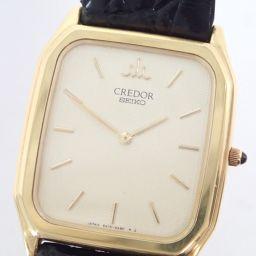 SEIKO【セイコー】 5A74-3A20 腕時計 /レザー メンズ