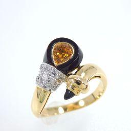 SELECT JEWELRY【セレクトジュエリー】 マダムブラン作 リング・指輪 2691/ダイヤモンド/イエローサファイア レディース