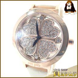 Folli Follie【フォリフォリ】 WF2R005SS 腕時計 レザー/ステンレス/ライトストーン レディース