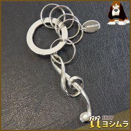 MIKIMOTO【ミキモト】 ト音記号 キーホルダー 真鍮/メッキ レディース