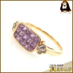 SELECT JEWELRY【セレクトジュエリー】 リング・指輪 /ピンクサファイヤ/ダイヤモンド レディース