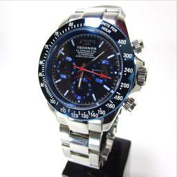TECHNOS【テクノス】 TSM401SN 腕時計 ステンレス メンズ