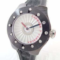 Carrera y Carrera【カレライカレラ】 腕時計 ステンレススチール/ラバー メンズ